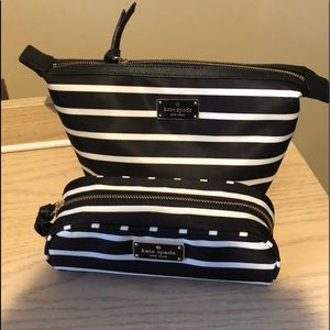 Kate Spade 2pc make-up set